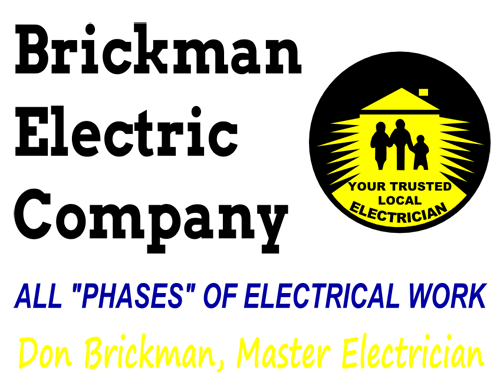 Don Brickman electric company master electrician